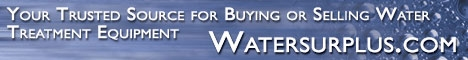 Your Trusted Source for Buying or Selling Water Treatment Equipment